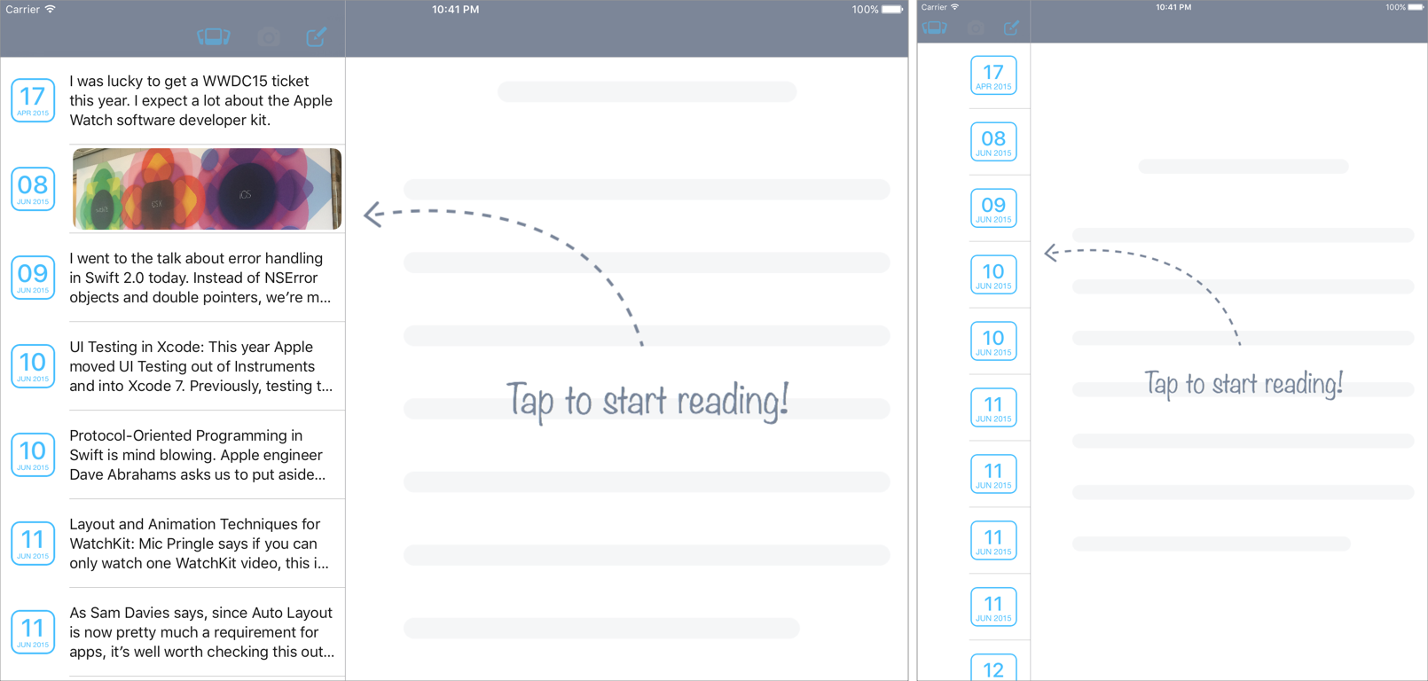 Advanced Article Reader App | AppBackyard : 200+ Mobile