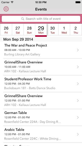 Event Calendar App  Appbackyard   Mobile App Templates